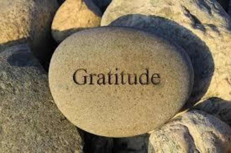 """""""Gratitude: More Than Just Me"""" (3 or 4)"""