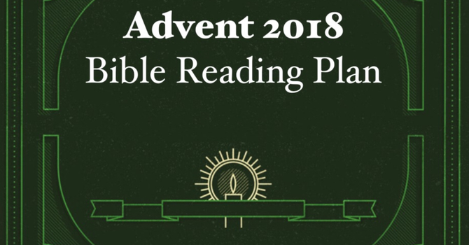 Advent 2018 Reading Plan image