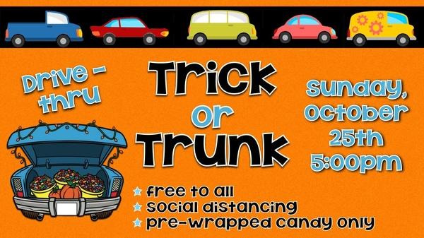 Drive Thru Trick or Trunk