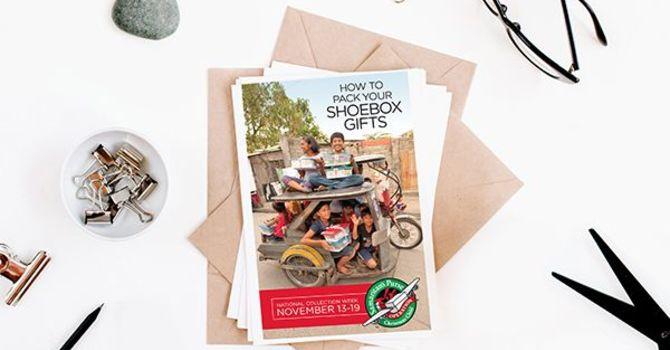 Operation Christmas Child Shoeboxes image