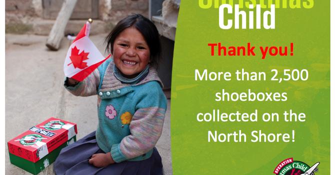 Operation Christmas Child - Thanks! image