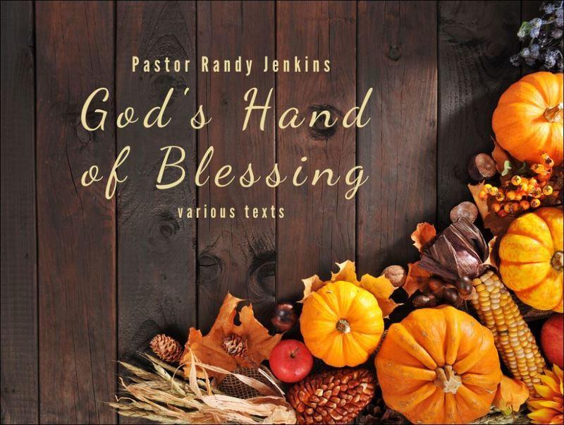 God's Hand of Blessing