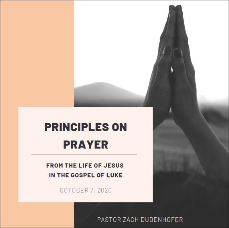 Prayer Promises a Future of Blessing