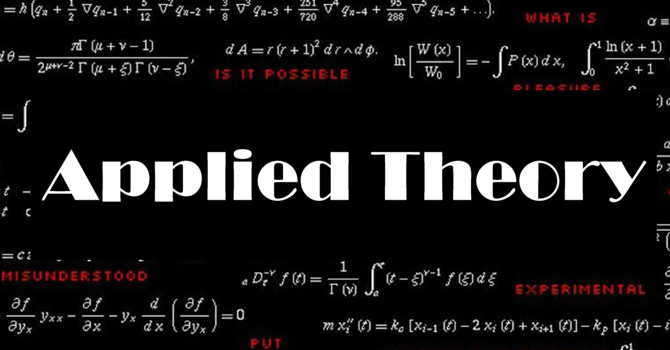 Applied Theory - Small Group for Grade 11 to University image