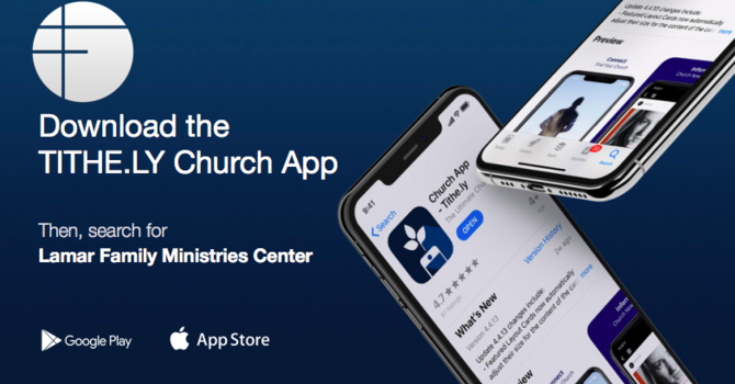 Our NEW Church App image