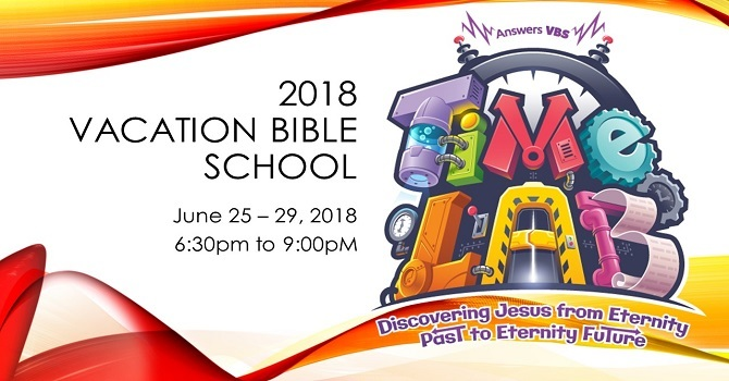 Time Lab Vacation Bible School! image