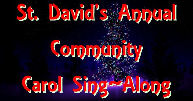 St. David's Community Carol Sing-Along