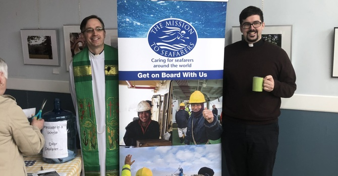 Rev. Peter Smyth Visit from the Mission to Seafarers image