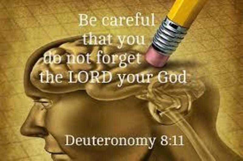 Do Not Forget God