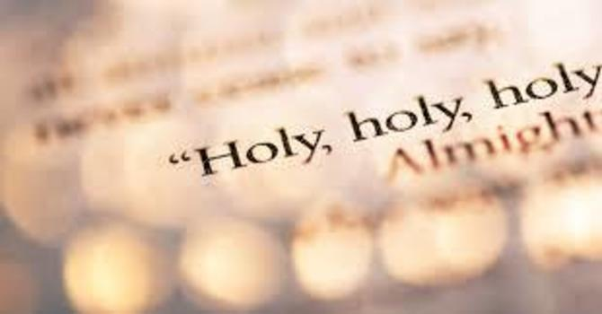 Be Holy as I Am Holy