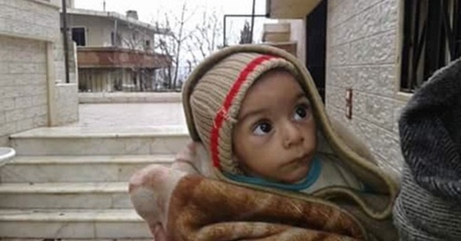 Children in Madaya; PWDRF January 10 image