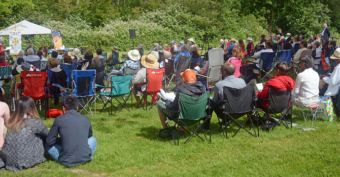 Tri-Parish Eucharist in the Park for 2019 image