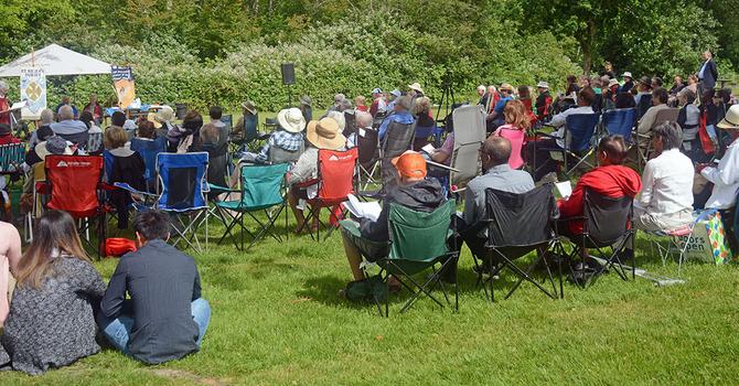 Tri-Parish Eucharist in the Park for 2019