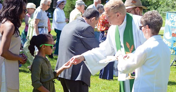It's the Small Things - The 5th Annual Surrey Tri-Parish Eucharist image