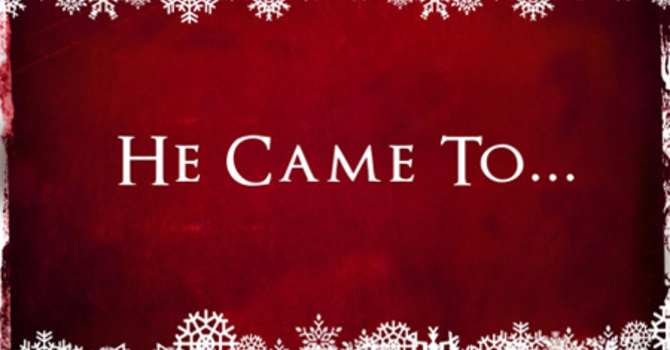 He Came To... Testify to the Truth