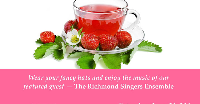 St Alban's Richmond Strawberry Tea image