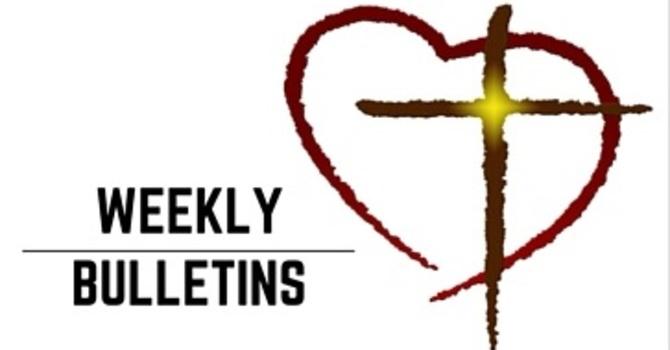 Weekly Bulletin   April 9, 2017 image