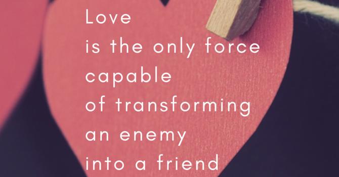Karen Hollis- Luke 6:27-38 'The Transforming Community' image