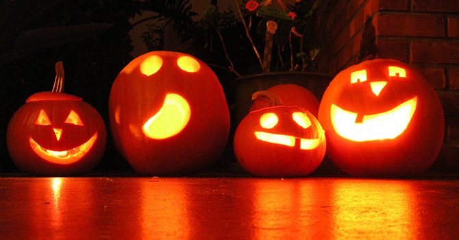 Building Community at Halloween image