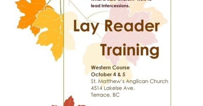 Lay Reader Training