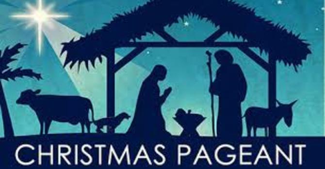 Pageant Sunday & Advent III image