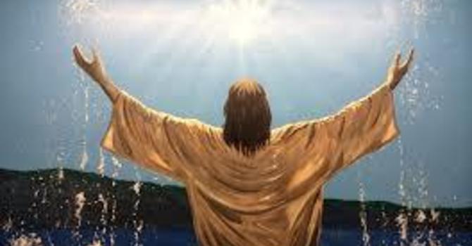 Baptism of Jesus Sunday image