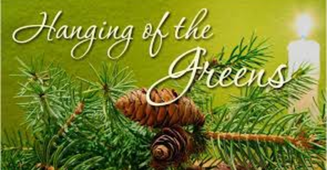 Advent II & Hanging of the Greens image