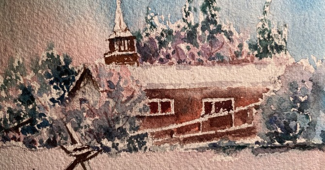 St. Clement's in the snow! image