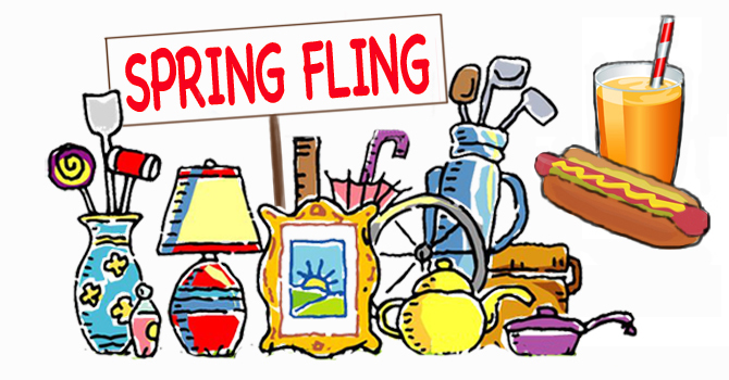 Spring Fling - May 25; 9:30 - 12:00