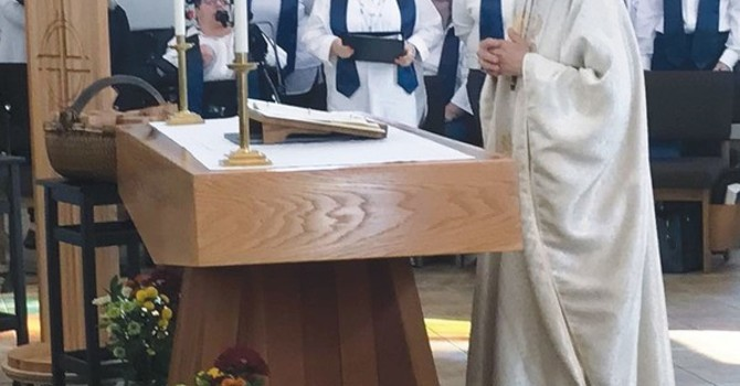 Archbishop Melissa's Dedicates Renewed Wood for Centre of Spiritual Renewal image