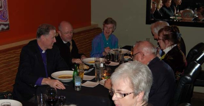 Archbishop Fred Hiltz visits the Parish of St. Matthew, Abbotsford image