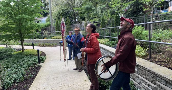 Blessing Amica Residents with Prayers and Music image