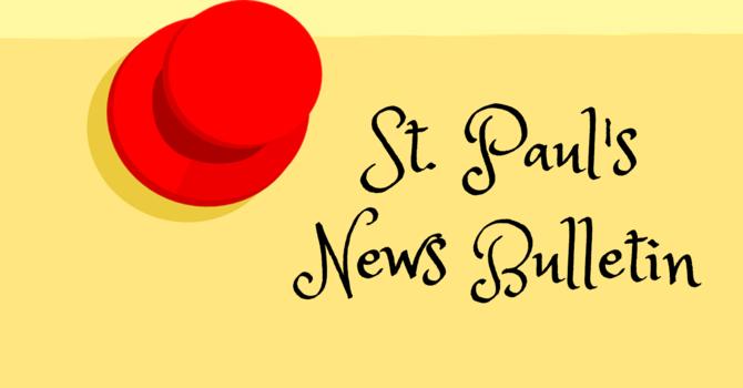St. Paul's May 19th News Bulletin image
