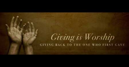 Giving is Worship