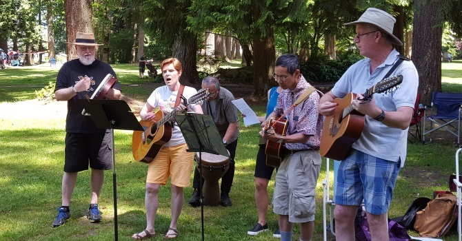 Deanery Picnic Pictures  image