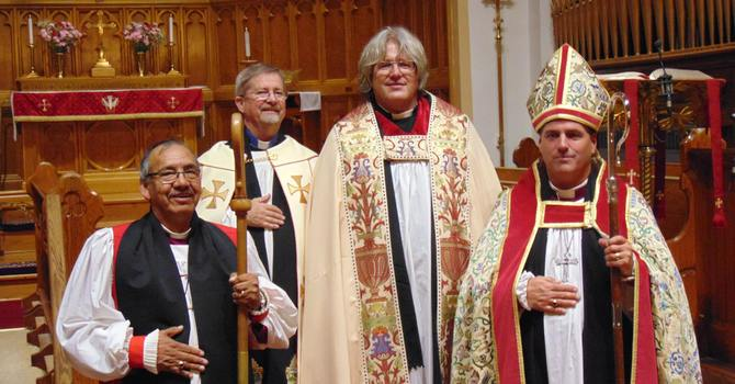 New Archdeacon, Canon Missioner and Members of the Order of Sask. image