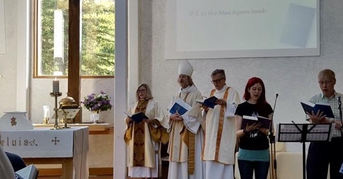 Archbishop Visits All Saints image