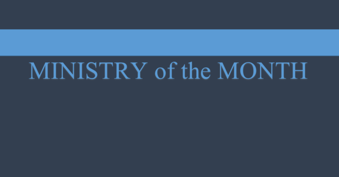 Ministry of the Month: May image