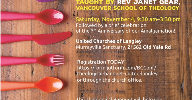 All-UCoL Participation in Theological Banquet, Nov 4, 9:30am-3:30pm image