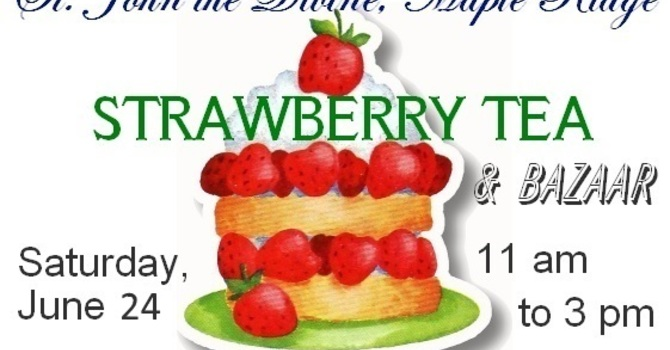 Strawberry Tea & Bazaar