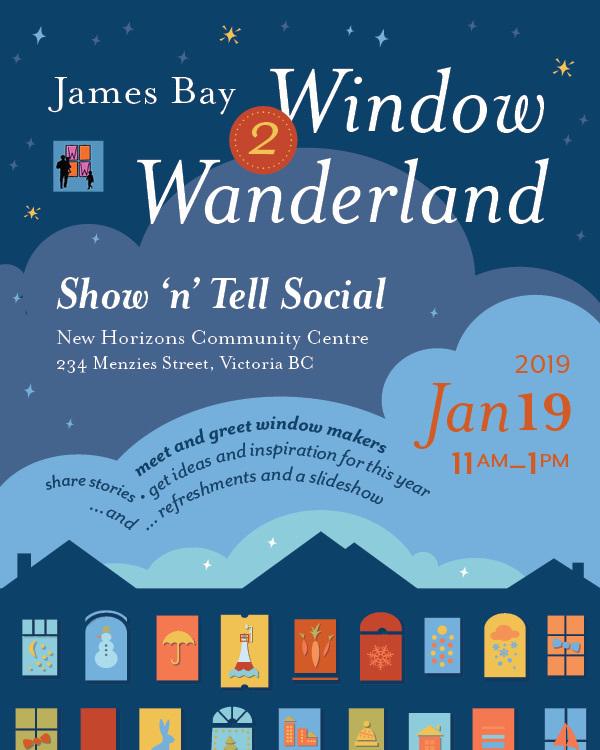 Window Wanderland Show & Tell