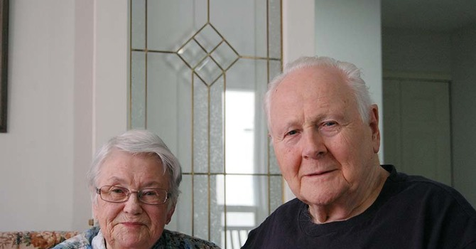 Congratulations to Betty and Don – 68 Years