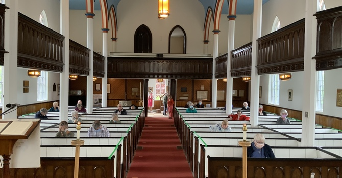 Trinity Sunday in Church