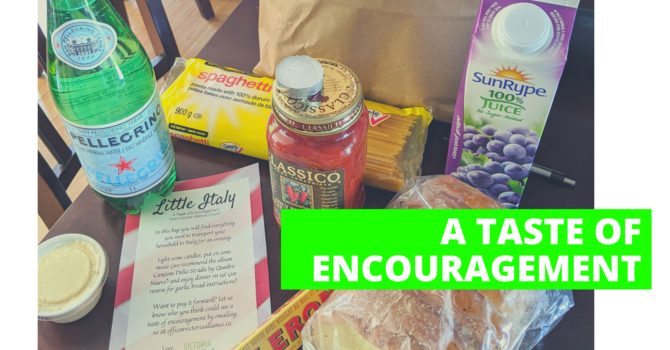Give your Neighbours a Taste of Encouragement! image