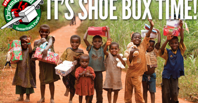 Operation Christmas Child Kicks Off! image