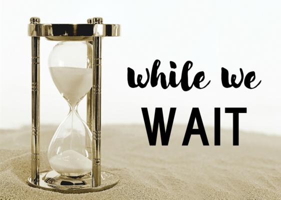 While We Wait