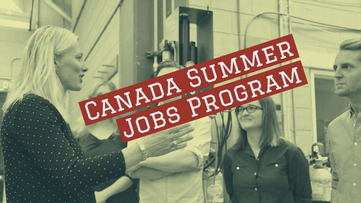 in canada jobs Summer for teens