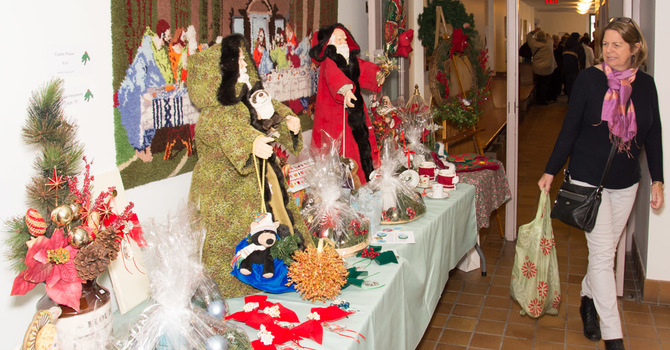 2016 Christmas Treasures Bazaar image