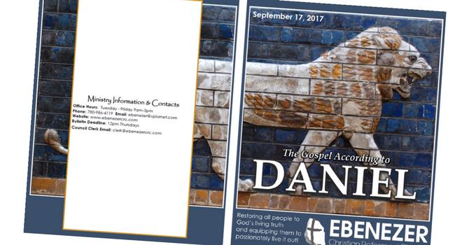 September 17, 2017 Bulletin image