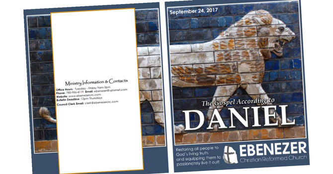 September 24, 2017 Bulletin image